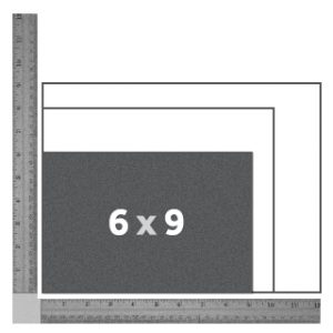 "6"" x 9"" Landscape Book"
